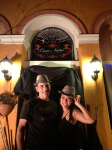 """The members of the """"Teatro en la Oscuridad"""""""